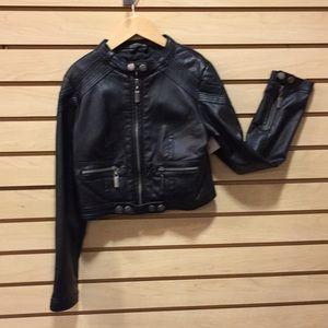 Other - Sz 7 Black leather Jack